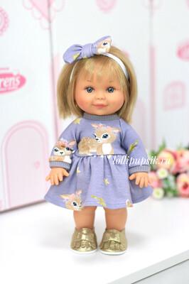 Кукла Бетти с ароматом карамели, 30 см (в платье с оленятами) Lamagik Magic Baby