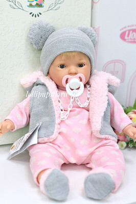 Кукла Ноа (Noa) с закрывающимися глазками, 45 см