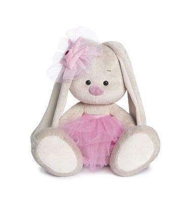 BUDI BASA Мягкая игрушка Зайка Ми Балерина -23см в положении сидя