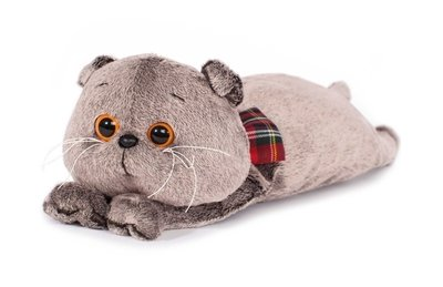 BUDI BASA Мягкая игрушка Кот Басик подушка, мягкая игрушка - 40 см