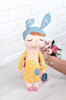 Мягкая игрушка Metoo Сплюшка Angela в желтом платье - 43 см