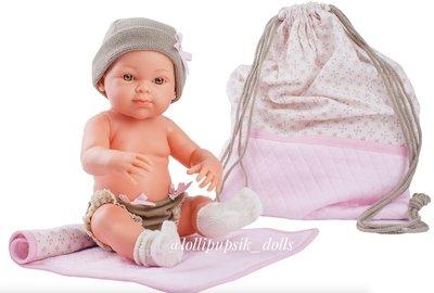 Пупс Paola Reina с рюкзачком и одеяльцем