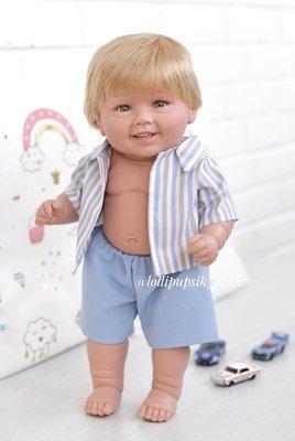 Кукла виниловая Manolo Dolls DIANA-BOY 50 см