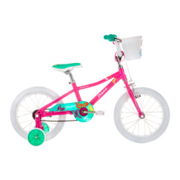 AVA BIKE DIANA 16 PINK/GREEN