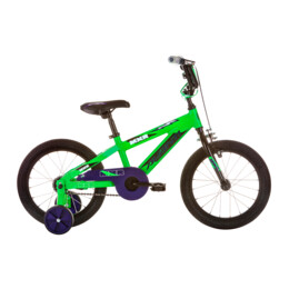 AVA BIKE MXR 16 GREEN/PURPLE