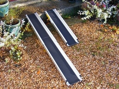 Telescopic  Wheelchair Ramp 6ft