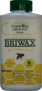 Briwax Staynwax Liquid Wax - Antique Pine J-3464A
