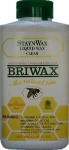 Briwax Staynwax Liquid Wax - Clear J-3464L