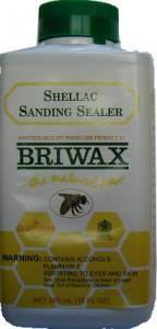 Briwax Shellac Sanding Sealer - 16 oz J-3467