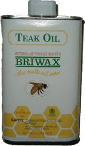 Briwax Teak Oil - 16 oz J-3468