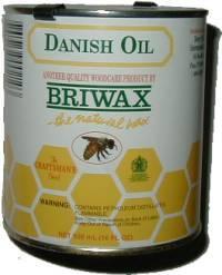 Briwax Danish Oil - 16 oz J-3469