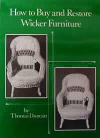 (ONE LEFT IN STOCK) - How to Buy & Restore Wicker A-0081