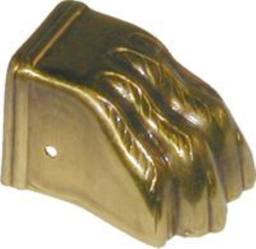 Steel Clawfoot Leg Cap with Antique Brass Finish AD-2304