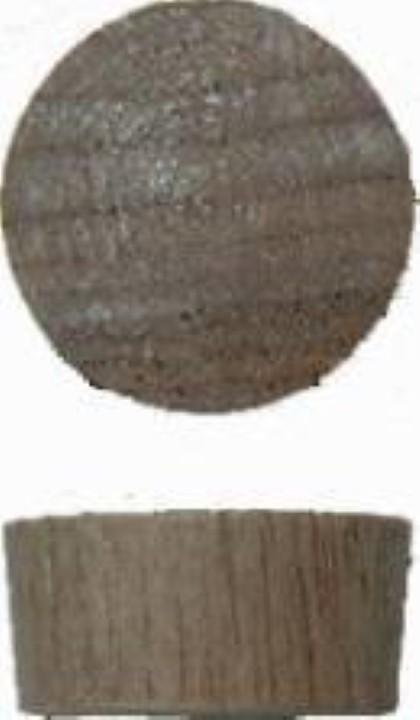 "Screw Hole Plugs - End Grain Walnut - 1/2"" W2-6514"