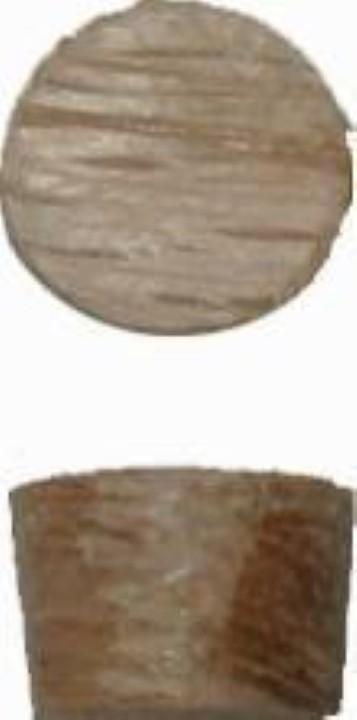 """Screw Hole Plugs - Side Grain Oak - 3/8"""" W3-6503"""