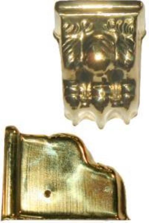 Stamped Brass Claw foot toe leg cap B-2323