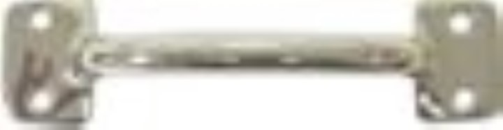 Polished Nickel Plated File Cabinet Drawer Pull N-1347