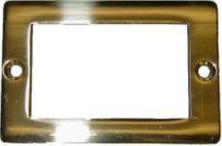 Cast Brass - File Cabinet Card Holder frame B-3147