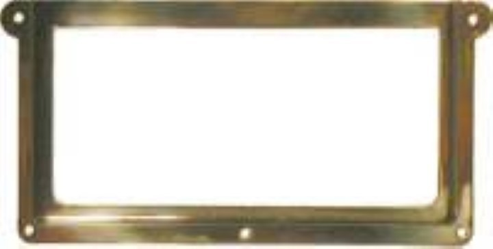 (OUT OF STOCK) --- File Cabinet Card Holder - Brass B-3158