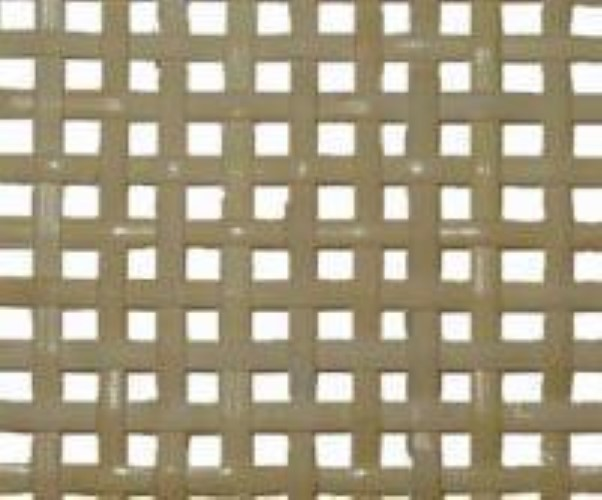 "Fine radio net bleached pre-woven cane webbing 24"" wide. Sold by the inch. R-8774"