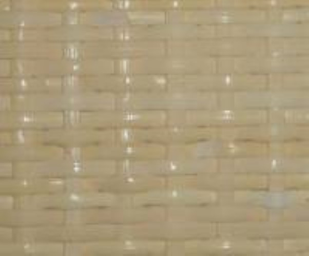"Medium close woven bleached pre-woven cane webbing 18"" wide. Sold by the inch. R-8818"