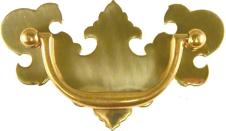 Bat wing Chippendale Style Drawer Pull B-0667