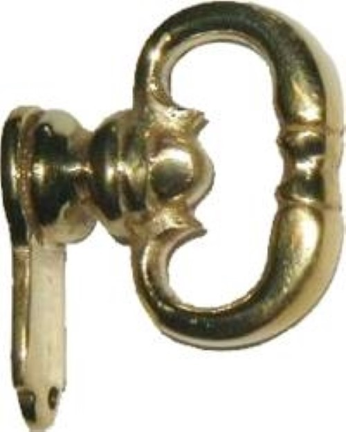 Colonial Revival Style Cast Brass Mock Key Pull B-1904