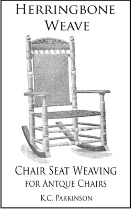 Herringbone Weave - Chair Seat Weaving for Antique Chairs A-0018