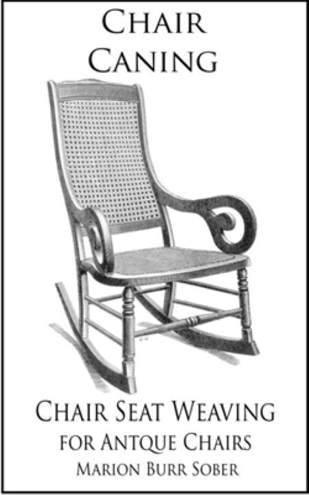 Basic Chair Caning Book Marion Burr Sober A-0026