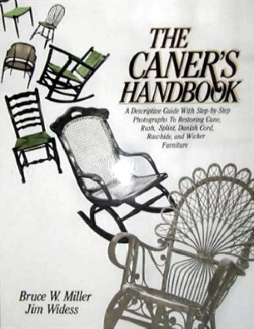 The Caner's Handbook, cane, rush, splint, cord, wicker vintage antique A-0033