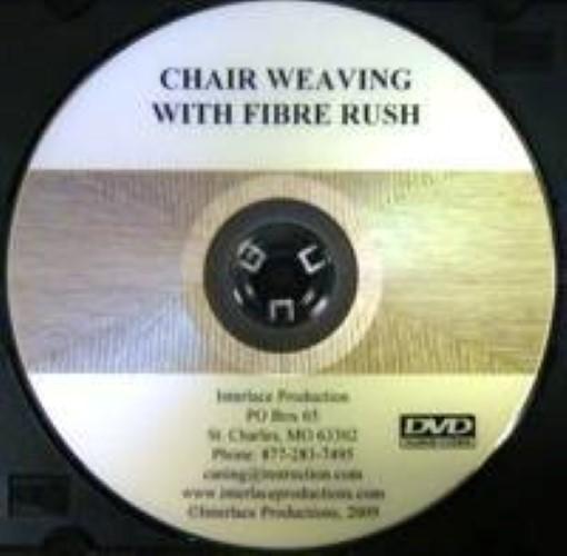 Chair Weaving with Fiber Rush - DVD V-0013