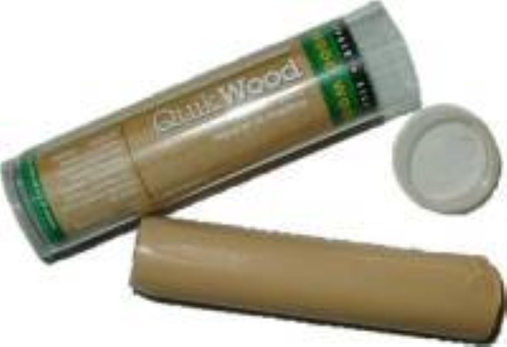 Pine Quickwood Epoxy wood repair putty.  1 oz. tube J-3482L