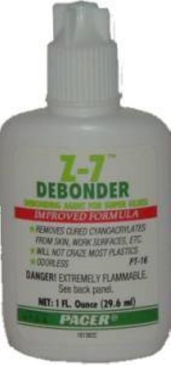 Z7 Debonder  - Debonding agent for Zap Glues G-6895