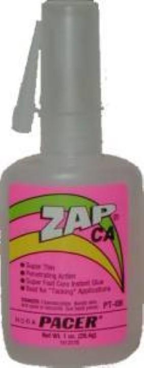 Zap-CA Adhesive - Super Thin - 1 oz. G-6881