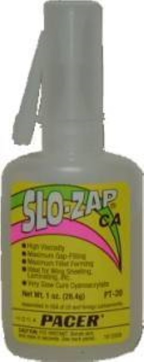 Slo-Zap Adhesive - Super Thick - 1 oz. G-6880