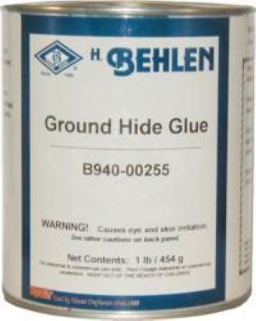 Ground Hide Glue - 16 oz. - powder veneer cabinet G-6850