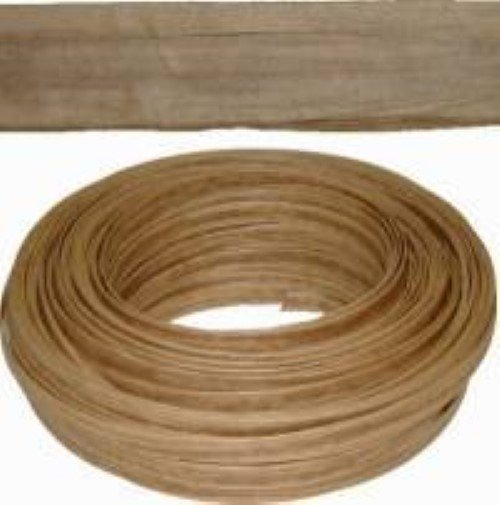 "Kraft Brown ART FIBER FLAT SEATING - 1/2""wide x 120 feet coil H-7634"