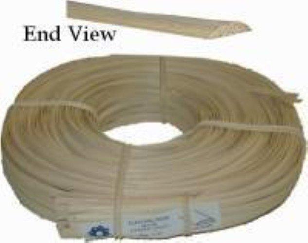 """FLAT OVAL REED SPLINT - Oval Top, Flat Bottom - 1/4"""" wide R-7612"""