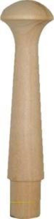 Birch Wood Shaker Peg - Finial W1-6010