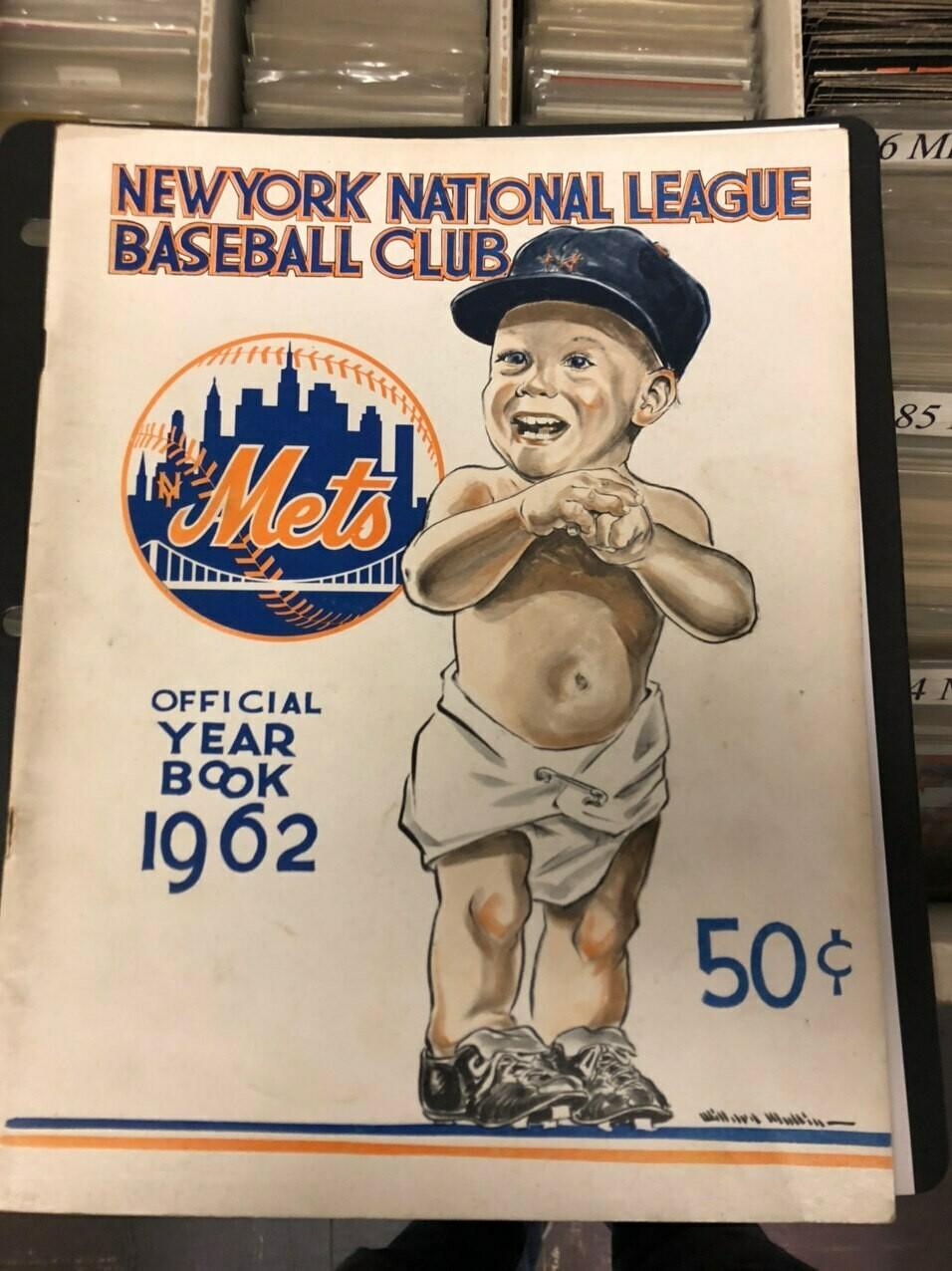 1962 NY Mets Inaugural 1st season Yearbook