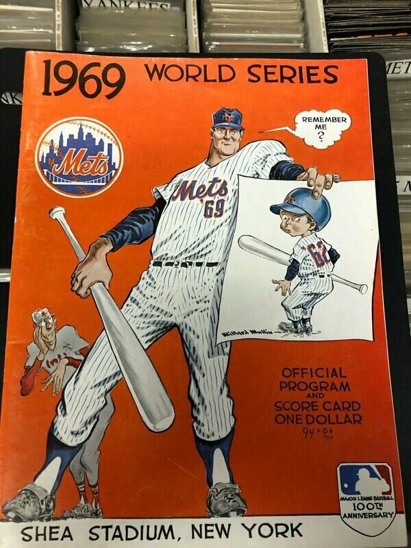 1969 NY Mets World Series Program