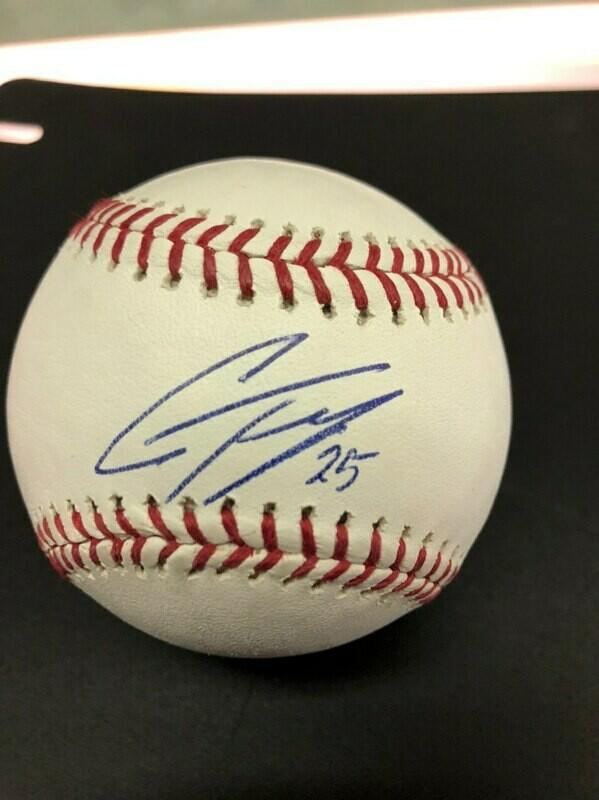 Gleyber Torres signed baseball - JSA cert.