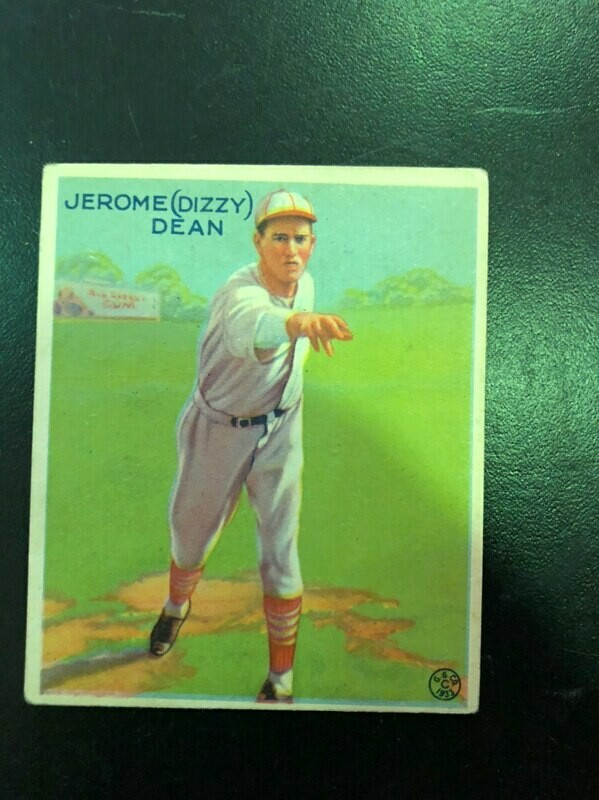 1933 Goudey #233 Dizzy Dean, list $1000, sell $695