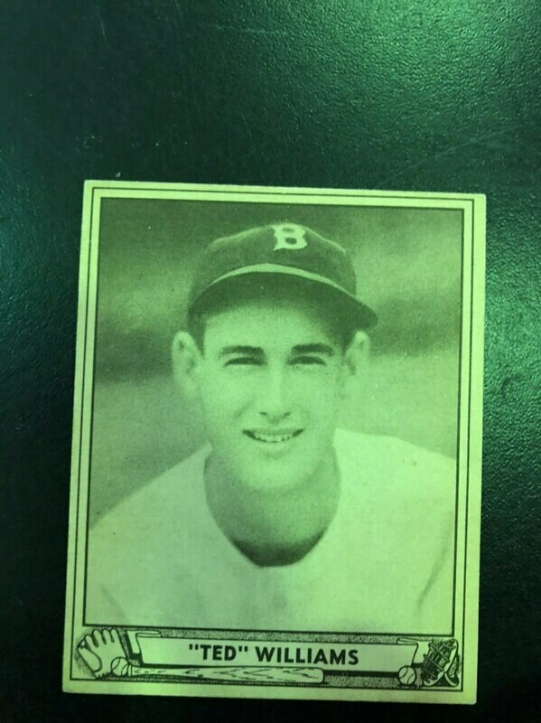 1940 Playball #27 Ted Williams, List $1500, sell $1250