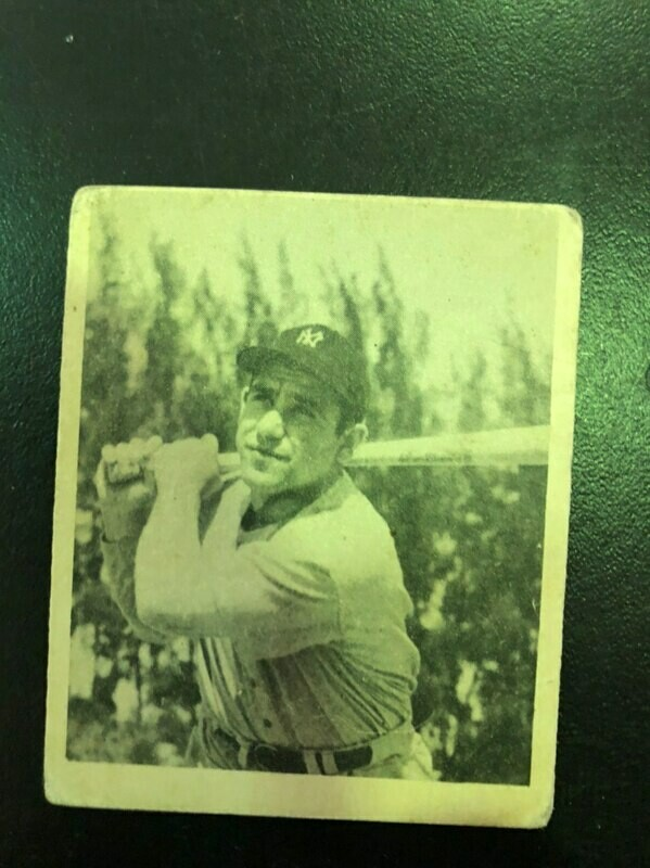 1948 Bowman # 6 Yogi Berra rookie, List $1000, Sell $350