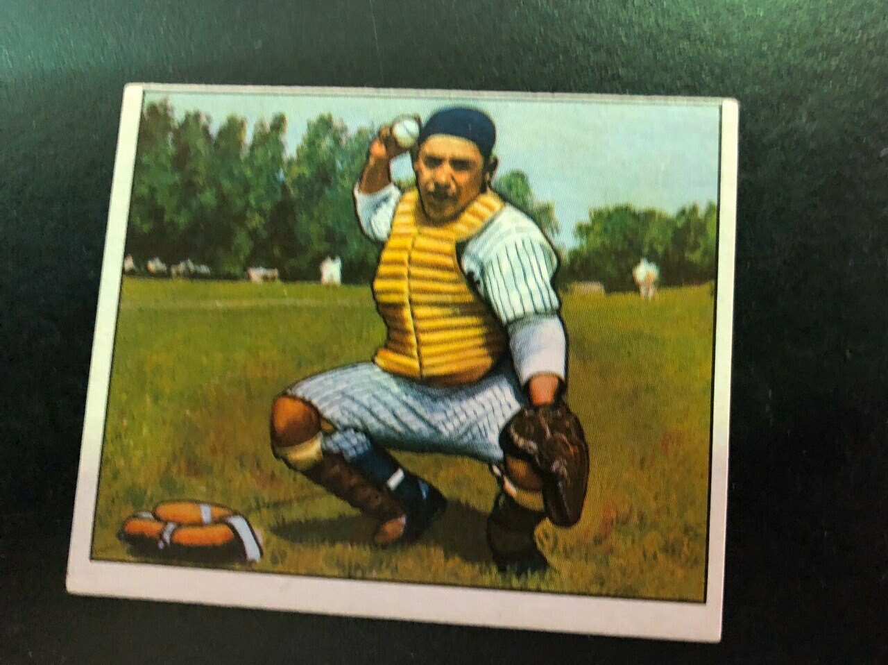1950 Bowman #46 Yogi Berra, List $600, Sell $395