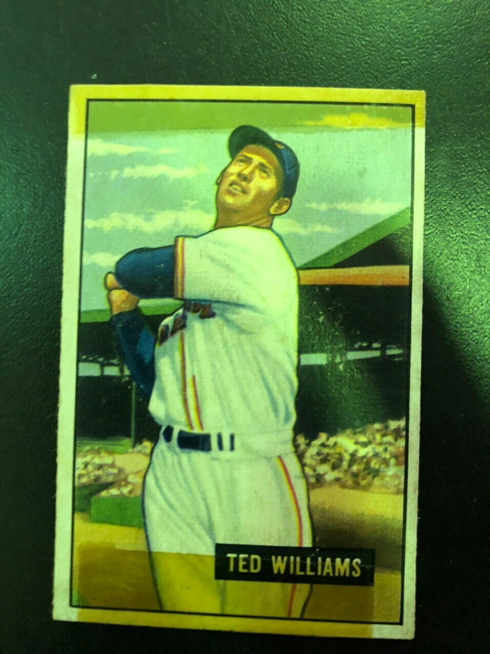 1951 Bowman #165 Ted Williams, List $800, sell $125