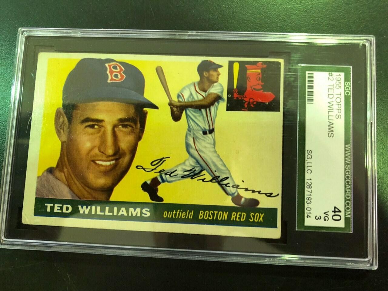 1954 Topps #201 Al Kaline, Beckett graded 5.5 $895