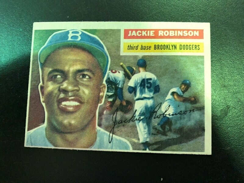 1956 #30 Jackie Robinson, List $400, sell $350