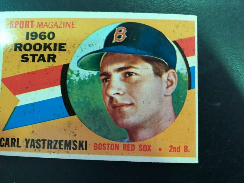 1960 Topps #148 Carl Yastrzemski rookie, List $250, Sell $150